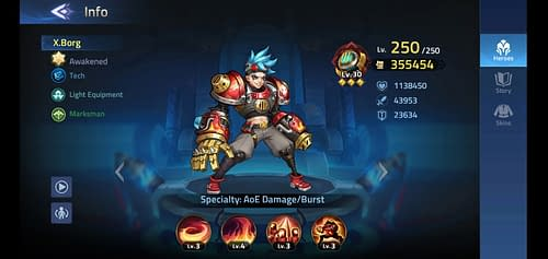 Mobile Legends Adventure Review Hero X.Borg