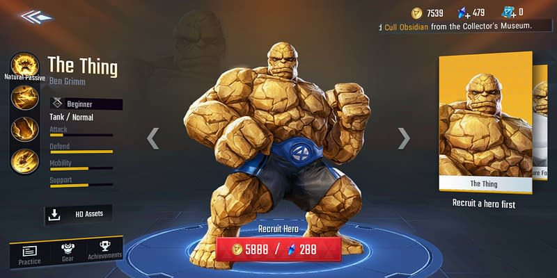 MSW The Thing - Skin Default