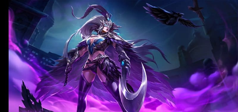LoA Morrigan - Skin Feather of Revenge