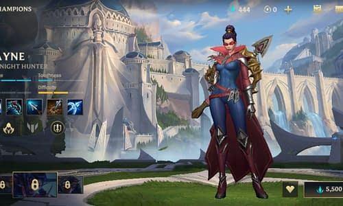 Guide Terbaru League of Legends Wild Rift untuk Hero Vayne