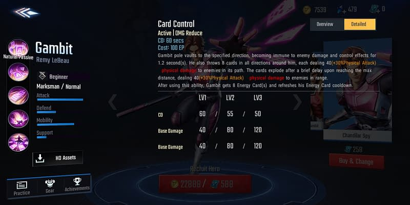 MSW Gambit - Card Control
