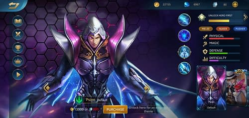 MVP Guide MOBA Heroes Evolved Psion