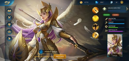 MVP Guide MOBA Heroes Evolved Hero Athena