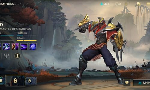 Guide Terbaru League of Legends Wild Rift untuk Hero Zed