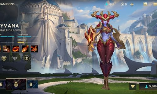 Guide Terbaru League of Legends Wild Rift untuk Hero Shyvana