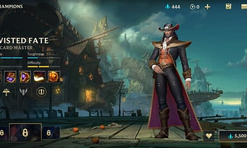 Guide Terbaru League of Legends Wild Rift untuk Hero Twisted Fate