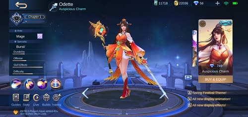 Mobile Legends Bang Bang  Hero Guide Mage Terbaru Odette