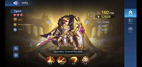 Mobile Legends Adventure Review Hero Tigreal