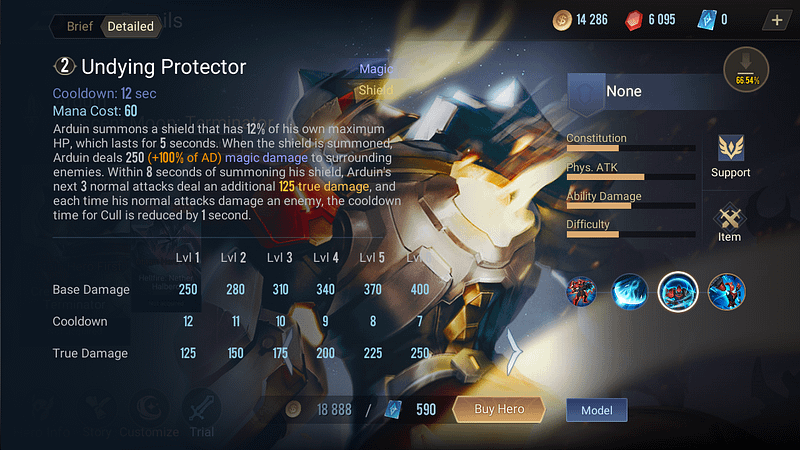 AoV Arduin - Undying Protector