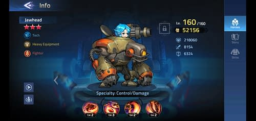 Mobile Legends Adventure Review Hero Jawhead