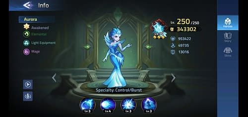 Mobile Legends Adventure Review Hero Aurora