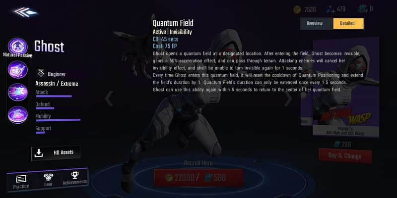 MSW Ghost - Quantum Field