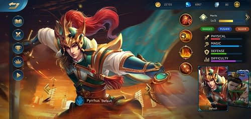 MVP Guide MOBA Heroes Evolved Hero Pyrrhus