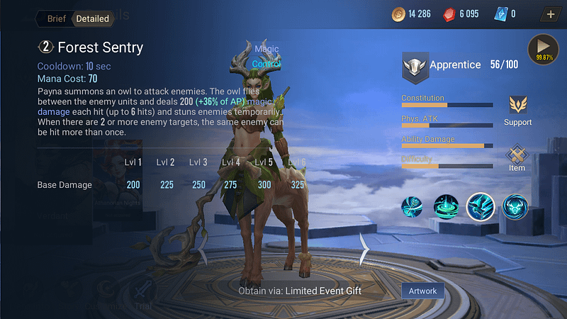 AoV Payna - Forest Sentry