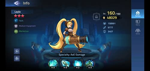 Mobile Legends Adventure Review Hero Layla