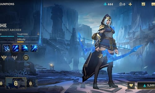 Guide Terbaru League of Legends Wild Rift untuk Hero Ashe
