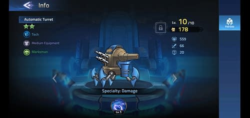 Mobile Legends Adventure Review Hero Automatic Turret
