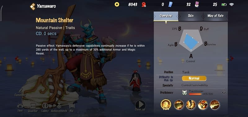 OA Yamawaro - Mountain Shelter