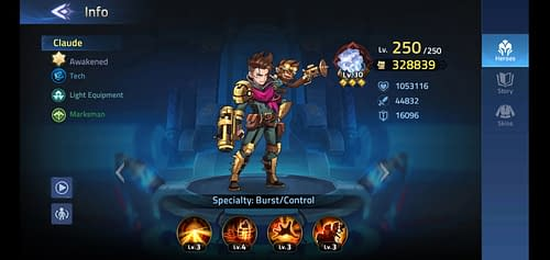 Mobile Legends Adventure Review Hero Claude
