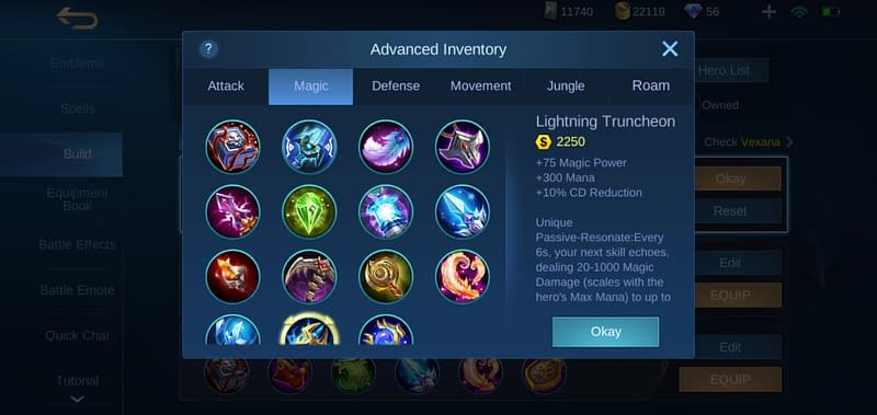 MLBB Vexana - Lightning Truncheon
