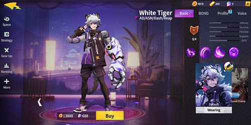 Unusual Guide for Extraordinary Ones Hero White Tiger