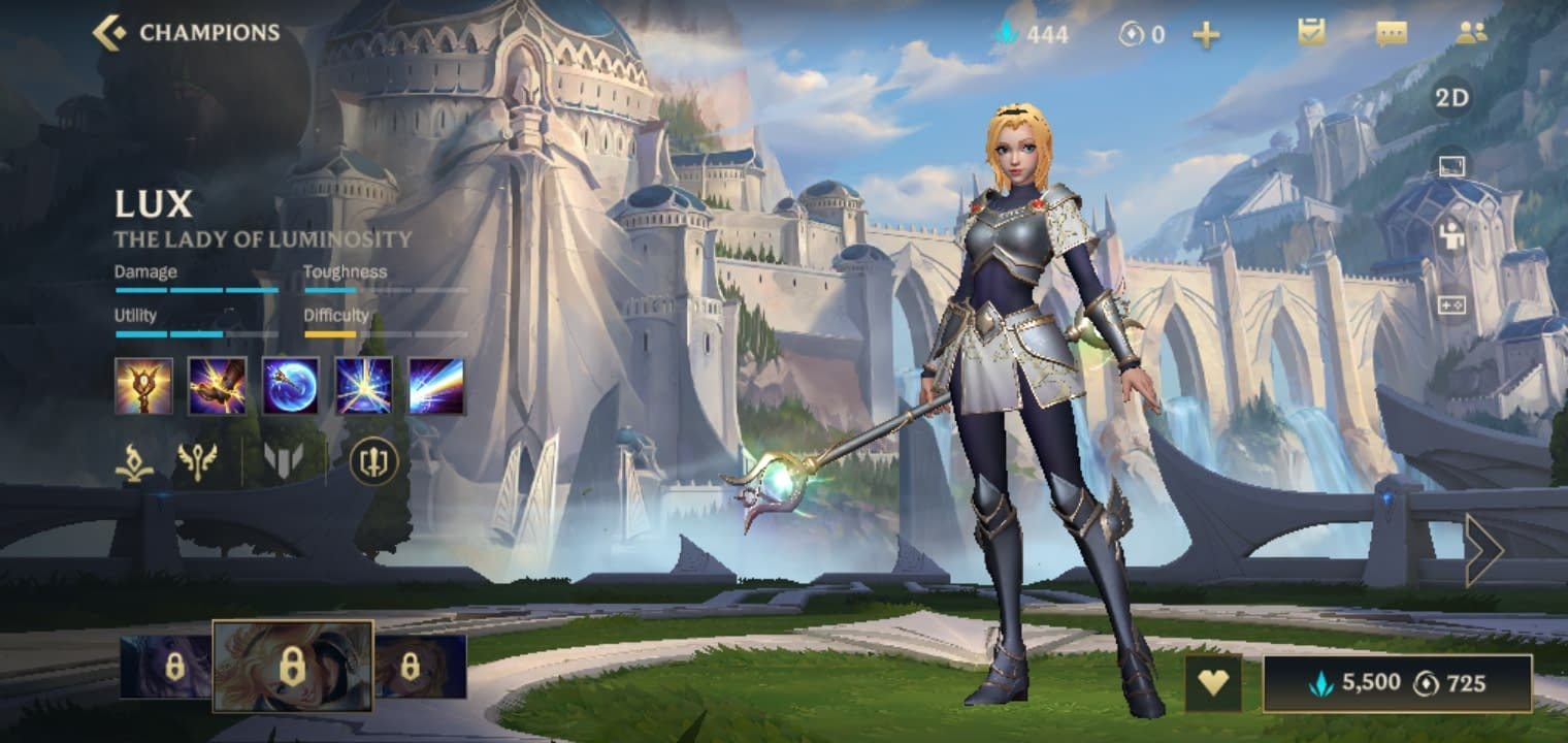 LOLWR Lux - The Lady of Luminosity