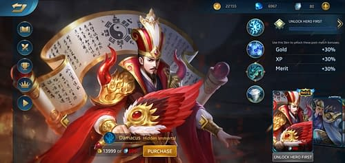 MVP Guide MOBA Heroes Evolved Hero Damacus