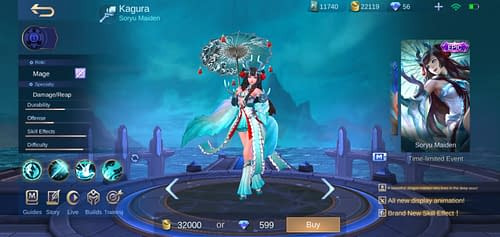 Mobile Legends Bang Bang  Hero Guide Mage Terbaru Kagura