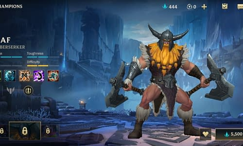 Guide Terbaru League of Legends Wild Rift untuk Hero Olaf