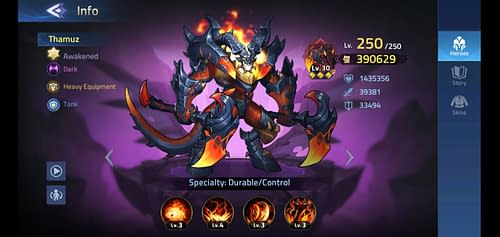 Mobile Legends Adventure Review Hero Thamuz