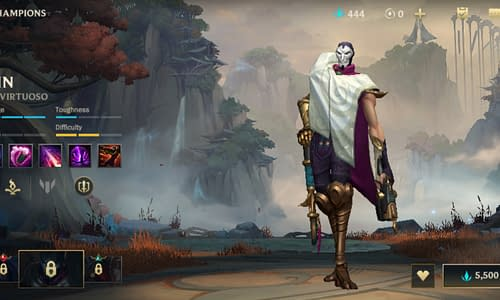 Guide Terbaru League of Legends Wild Rift untuk Hero Jhin