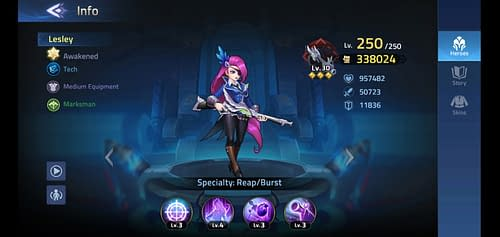 Mobile Legends Adventure Review Hero Lesley