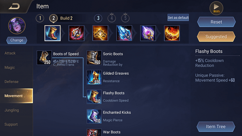 AoV Veera - Flashy Boots