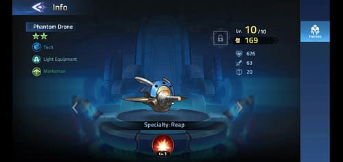 Mobile Legends Adventure Review Hero Phantom Drone