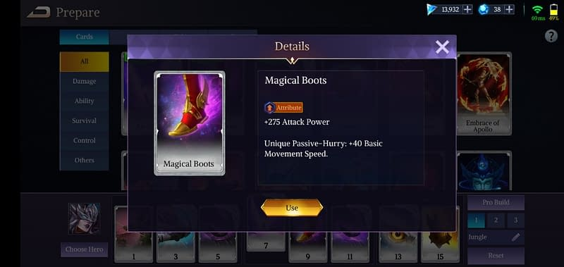 LoA Morrigan - Magical Boots