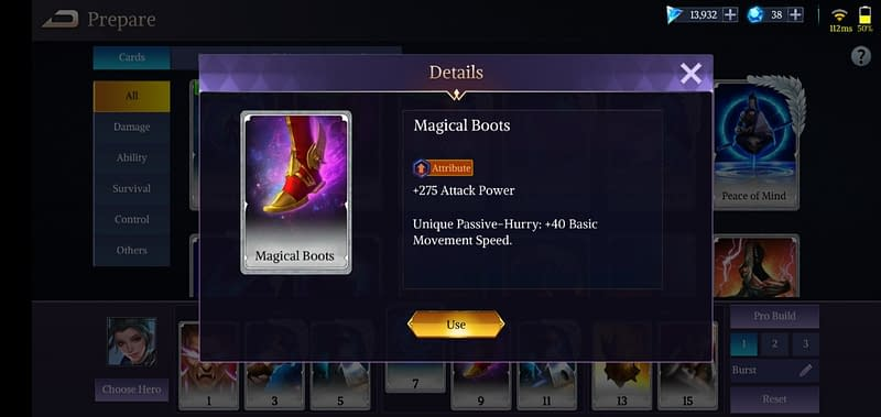LoA Takeko - Magical Boots