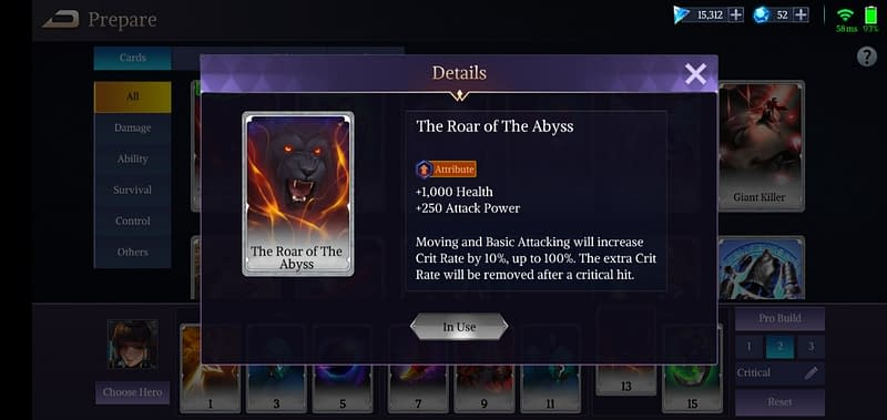 LoA Nut - The Roar of The Abyss