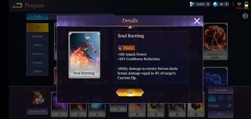 LoA Penthesilea - Soul Burning