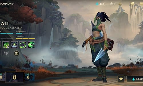 Guide Terbaru League of Legends Wild Rift untuk Hero Akali