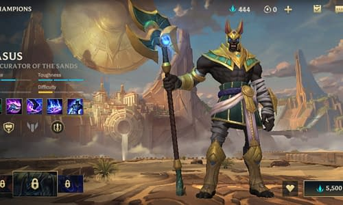 Guide Terbaru League of Legends Wild Rift untuk Hero Nasus