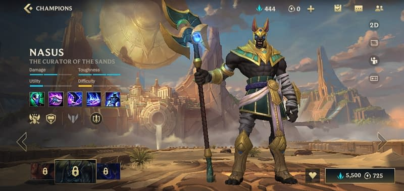 LOLWR Nasus - The Curator of the Sands