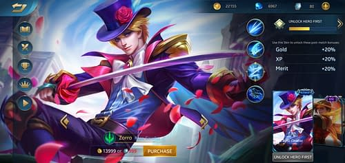 MVP Guide MOBA Heroes Evolved Zorro