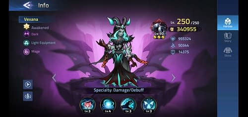 Mobile Legends Adventure Review Hero Vexana