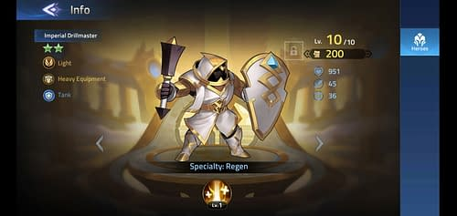 Mobile Legends Adventure Review Hero Imperial Drillmaster