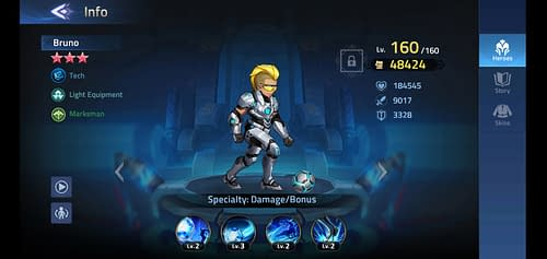 Mobile Legends Adventure Review Hero Bruno