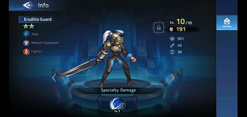 Mobile Legends Adventure Review Hero Eruditio Guard