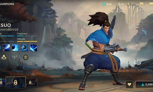 Guide Terbaru League of Legends Wild Rift untuk Hero Yasuo