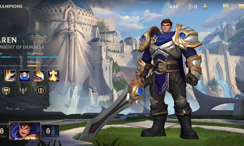 Guide Terbaru League of Legends Wild Rift untuk Hero Garen