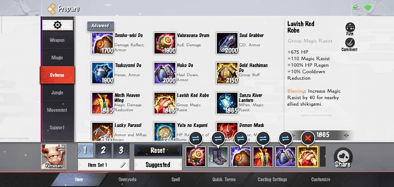 OA Yamawaro - Lavish Red Robe