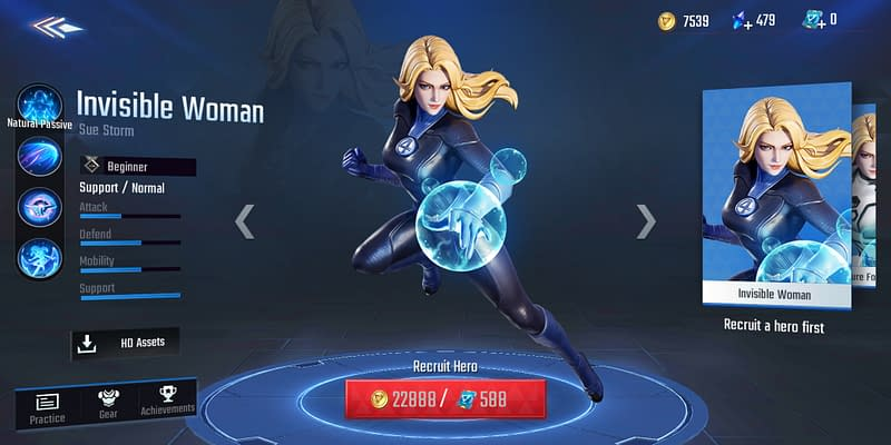 MSW Invisible Woman - Skin Default